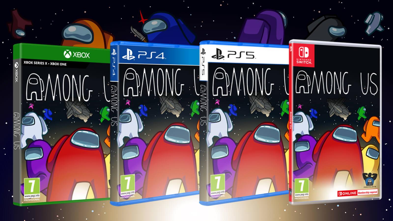 Among Us confirma lanzamiento físico en PS5 y PS4 con tres ediciones