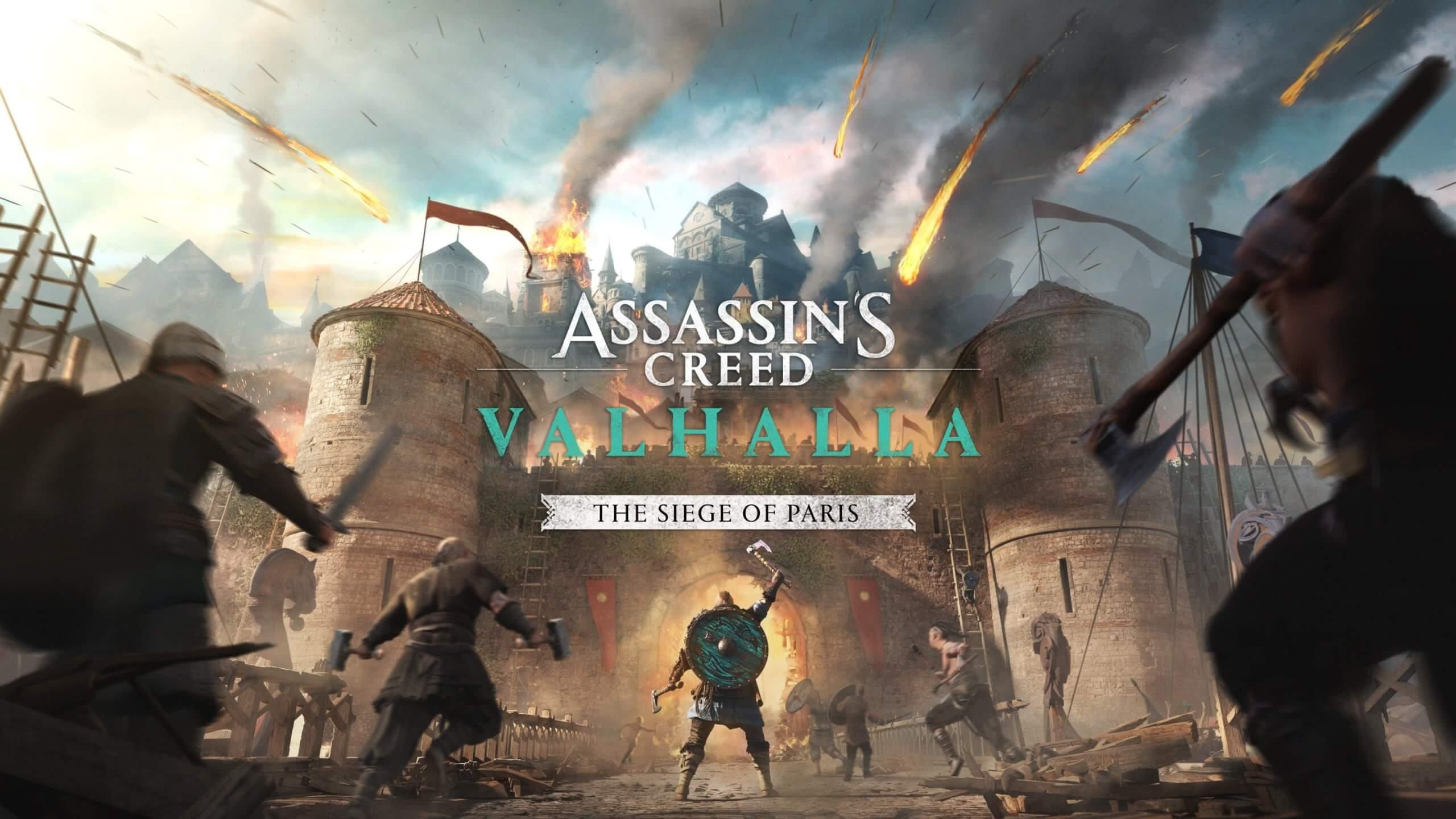 """Assassin's Creed Valhalla   La expansión """"El Asedio de París"""" llegará este 12 de agosto"""