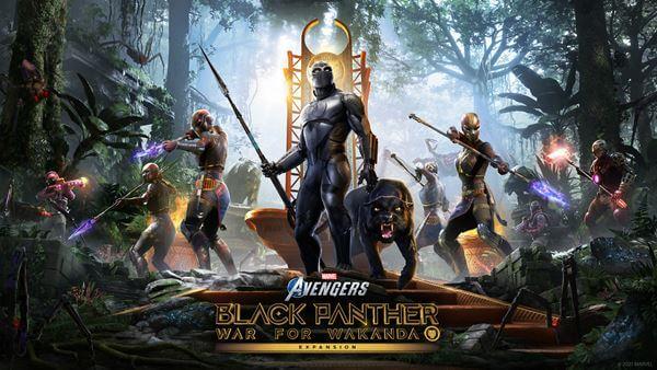 El DLC de Black Panther llegará gratis a Marvel's Avengers en agosto