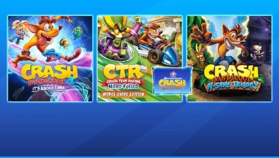 Crash Bandicoot estrena bundle de aniversario en PS Store con sus últimos tres juegos