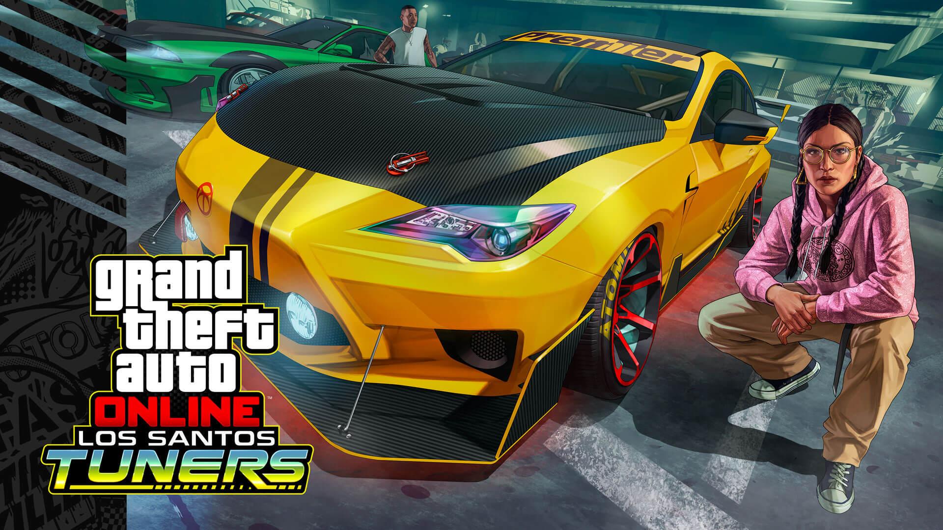 GTA Online muestra las novedades de su actualización Los Santos Tuners en un tráiler