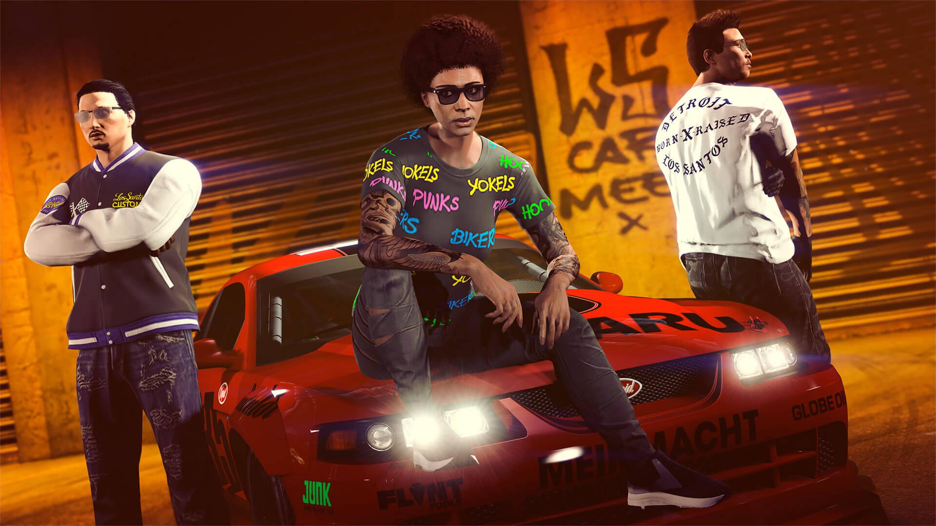 GTA Online ya ha desvelado sus novedades semanales en Los Santos Tuners