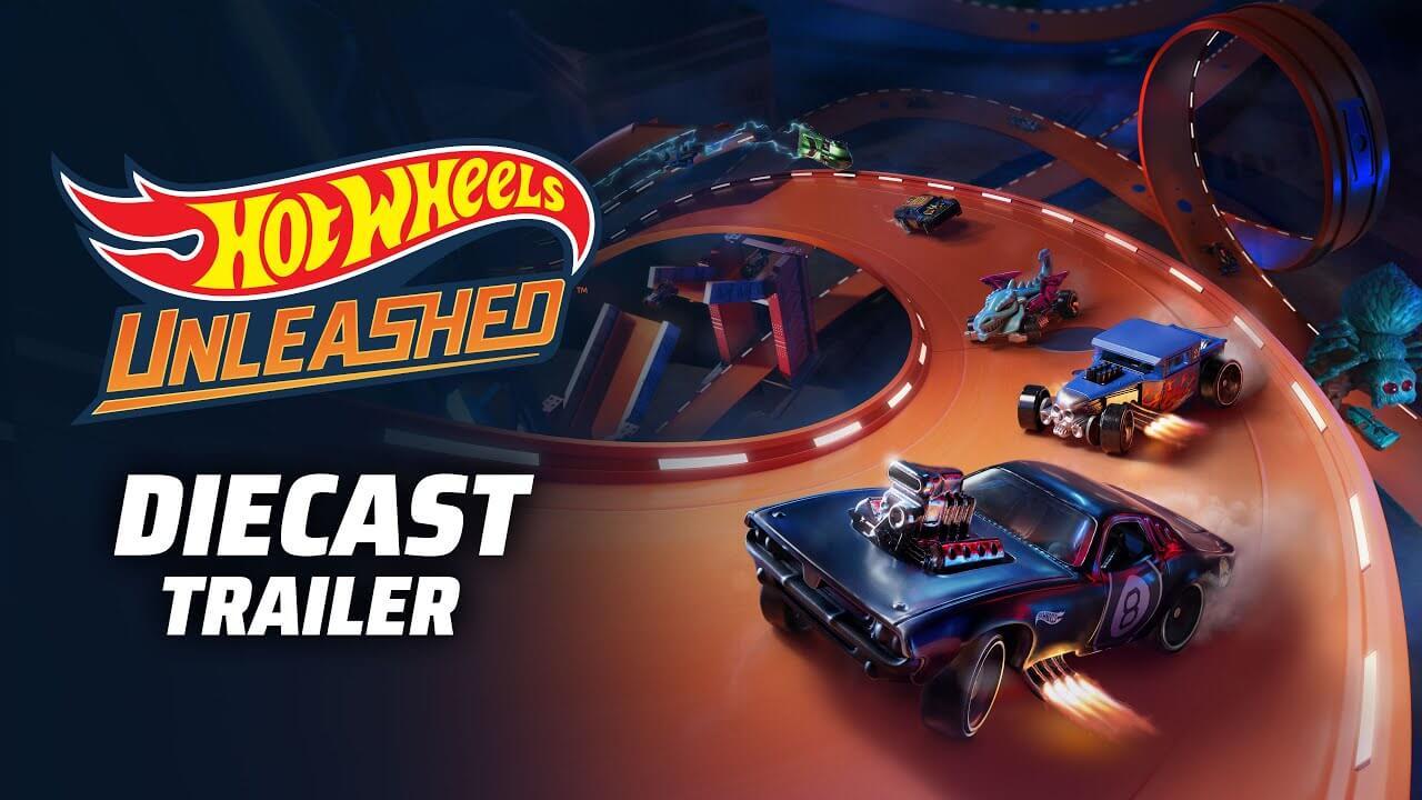 Hot Wheels Unleashed muestra sus coches en un nuevo tráiler