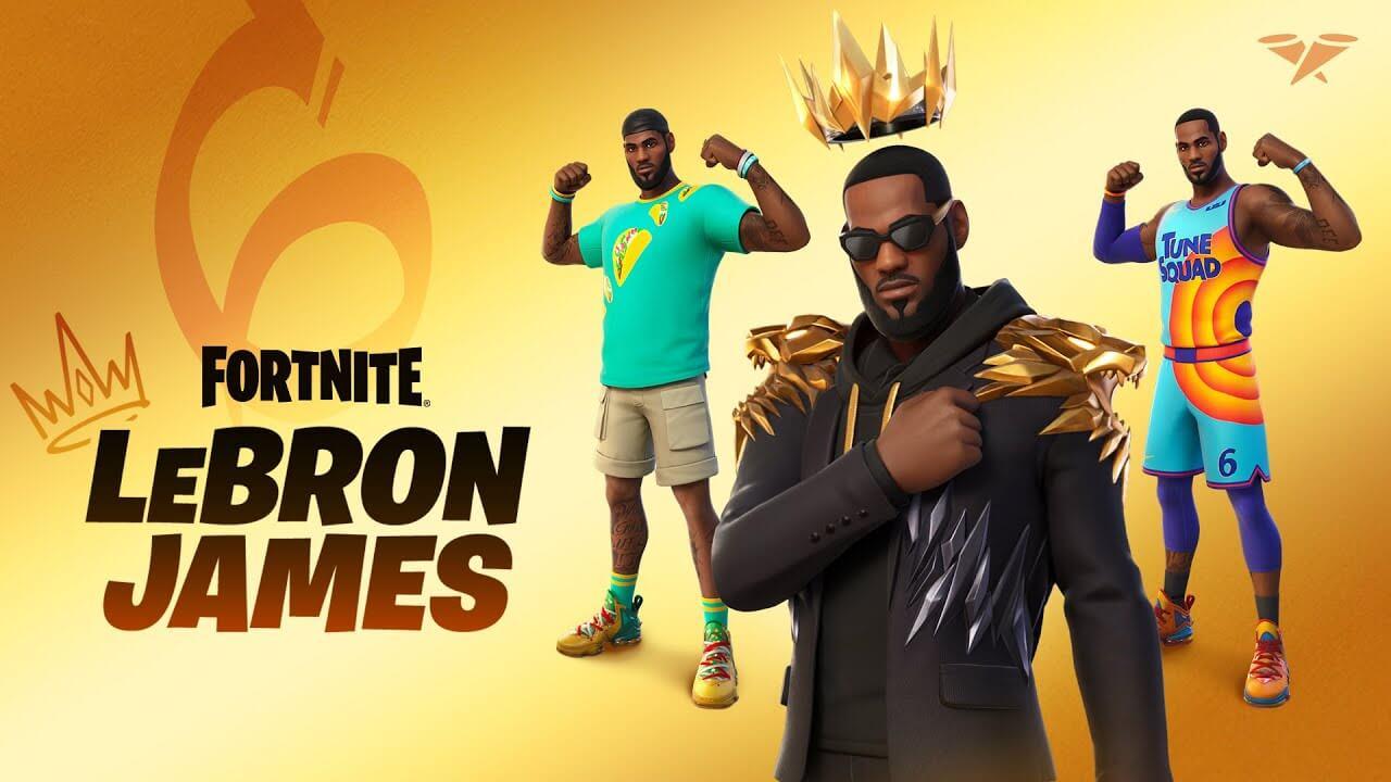 LeBron James llegará a Fortnite este 15 de julio