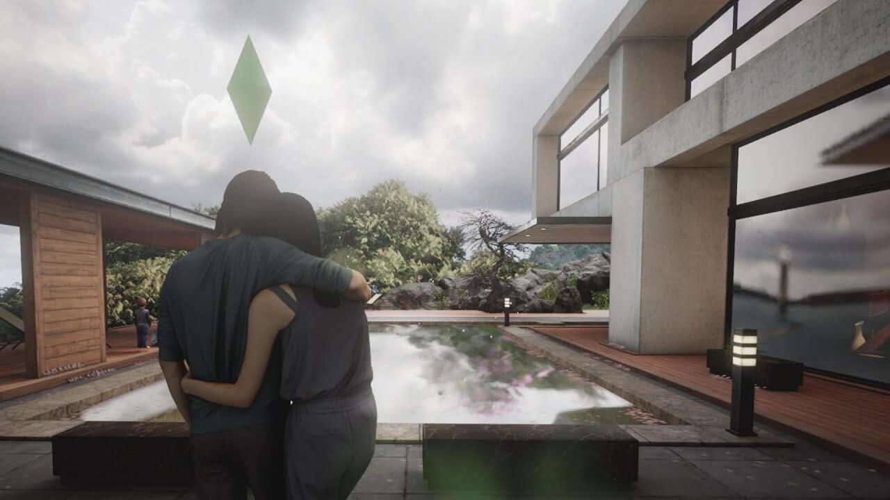 ¿Cómo serían Los Sims con gráficos realistas? Este vídeo nos lo muestra