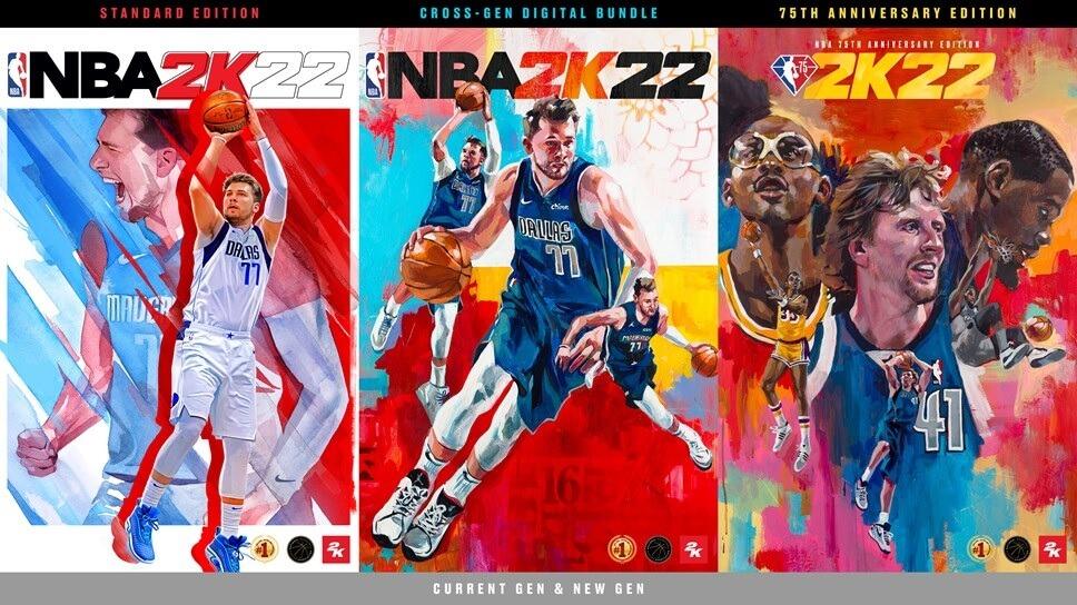 NBA 2K22 ya tiene fecha de lanzamiento y Luka Dončić será la estrella de su portada