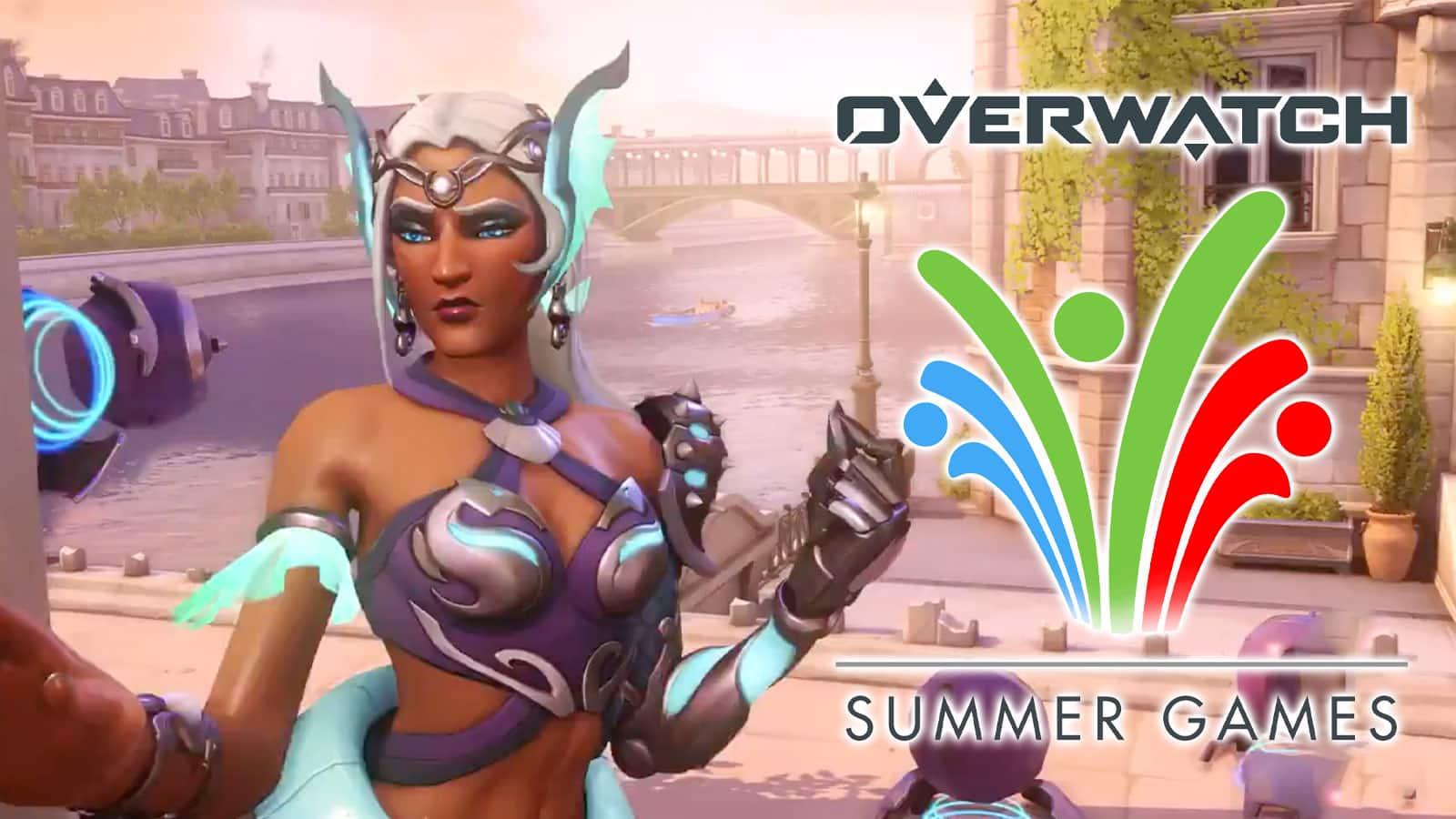 El evento Summer Games regresará a Overwatch este 20 de julio