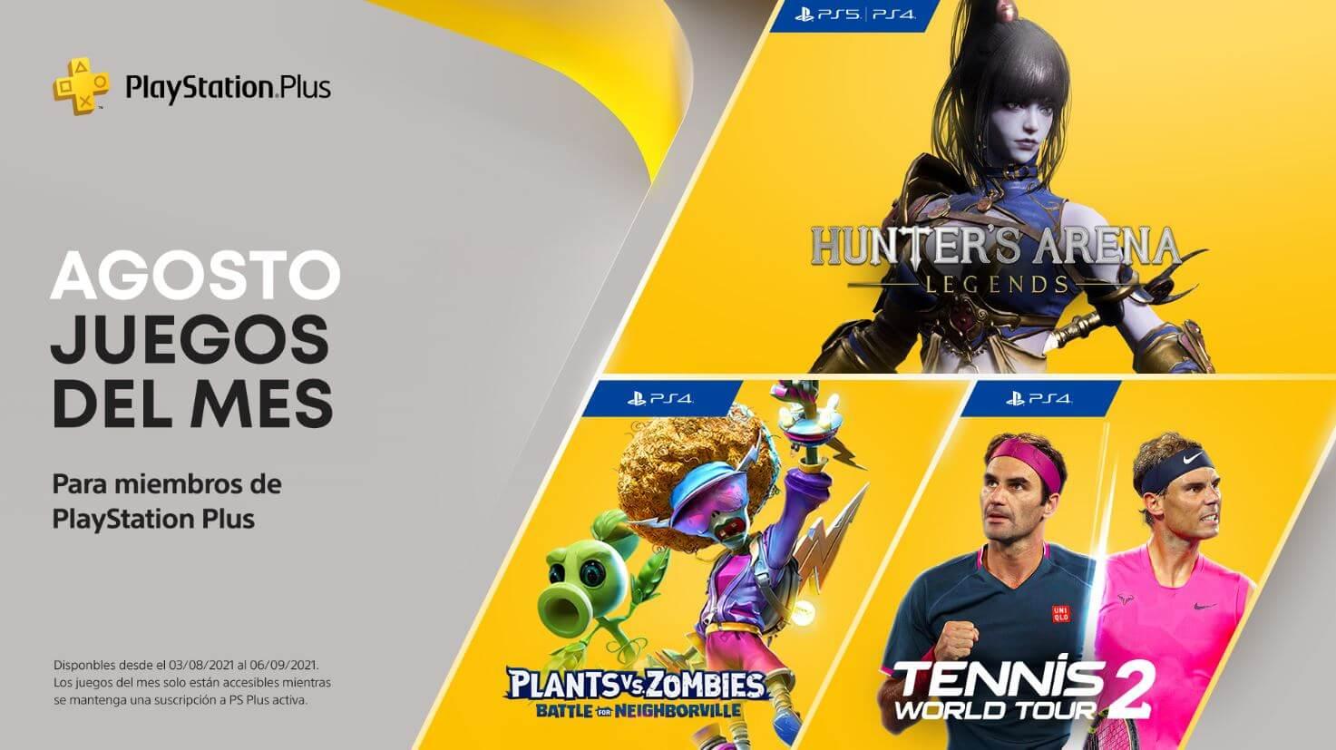 Ya están disponibles para descarga los juegos de PS Plus de agosto