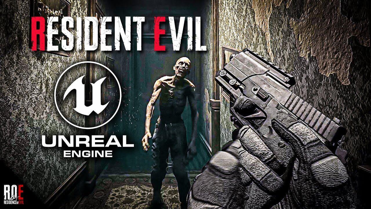 Aficionado crea una demo de Resident Evil HD Remaster en primera persona