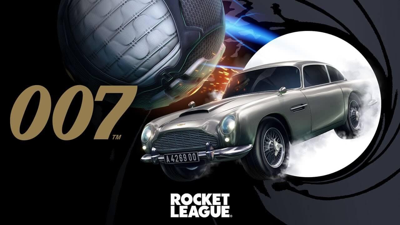 Rocket League anuncia una colaboración con James Bond 007