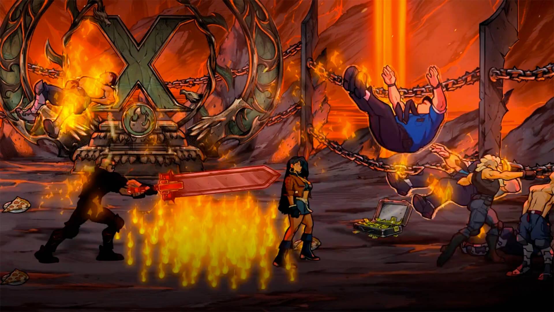 Streets of Rage 4 Anniversary Edition llegará en físico para PS4 en septiembre