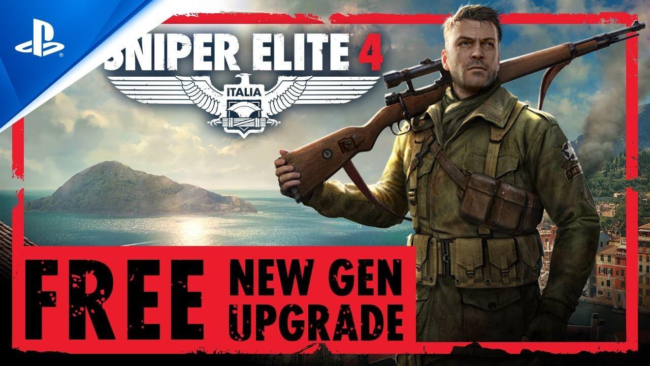 Sniper Elite 4 llega a PS5 con 4K, 60 FPS y tiempos de carga más cortos