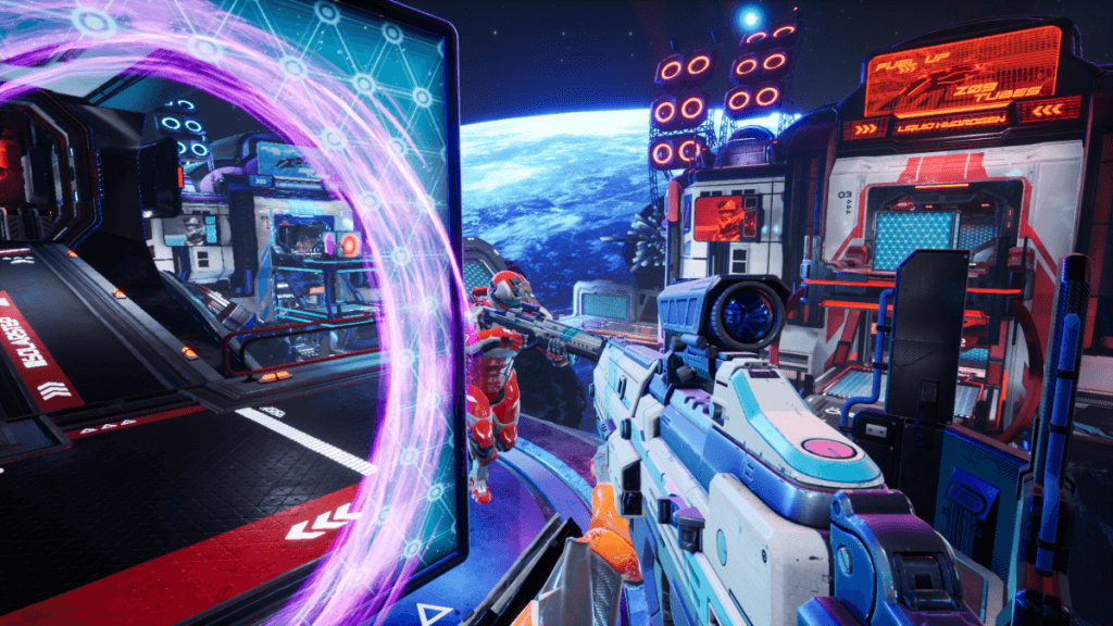 El portal shooter Splitgate retrasa su lanzamiento hasta agosto