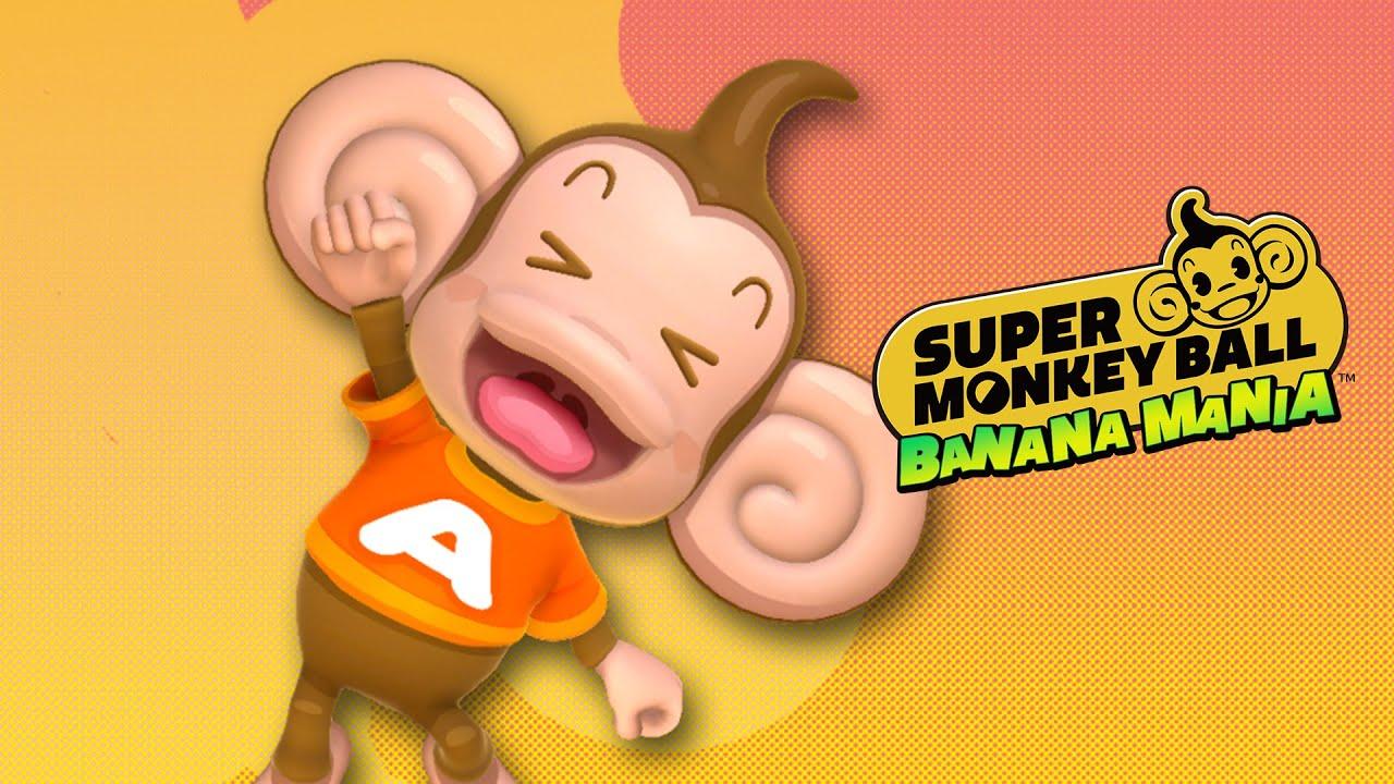 Super Monkey Ball Banana Mania presenta a la Pandilla en un tráiler
