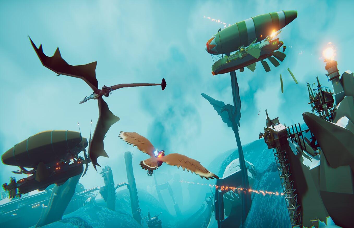 The Falconeer llegará en formato físico a PS4 y PS5 en agosto