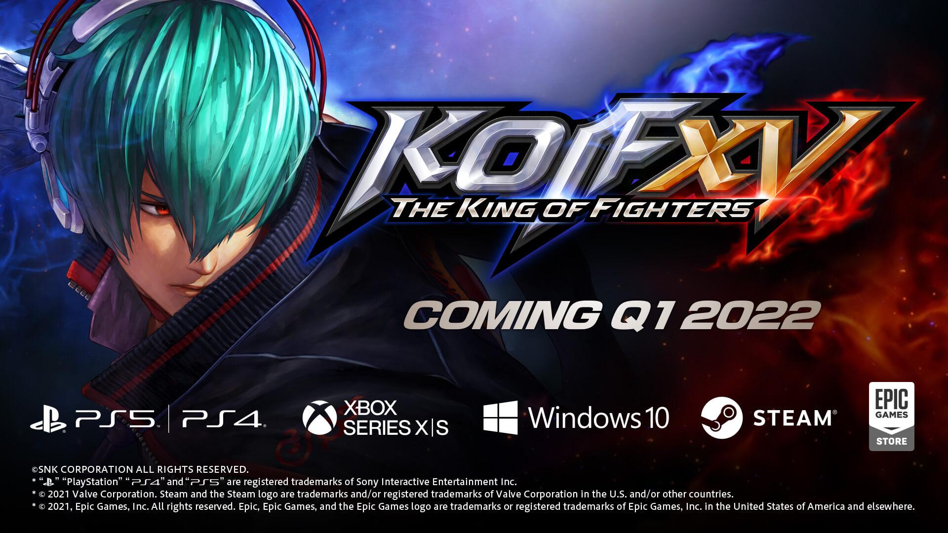 The King of Fighters XV confirma su ventana de lanzamiento en PS5 y PS4