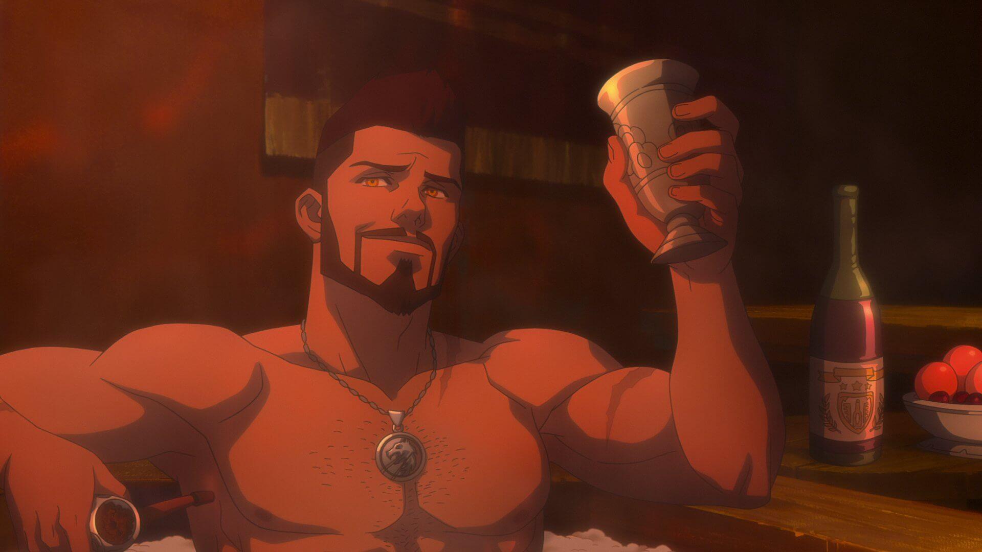 El anime The Witcher: La Pesadilla del Lobo ha revelado su primer tráiler