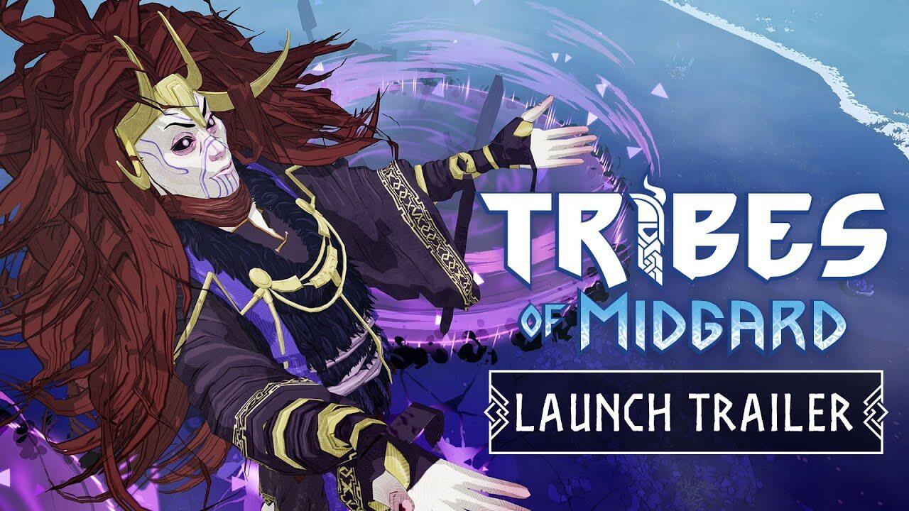 Tribes of Midgard nos muestra sus entornos nórdicos en su trailer de lanzamiento