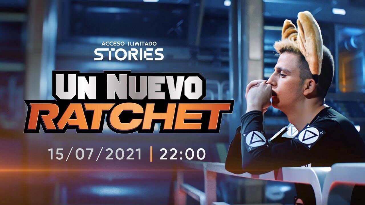 """El cortometraje """"Un Nuevo Ratchet"""" se estrenará este 15 de julio en Twitch"""