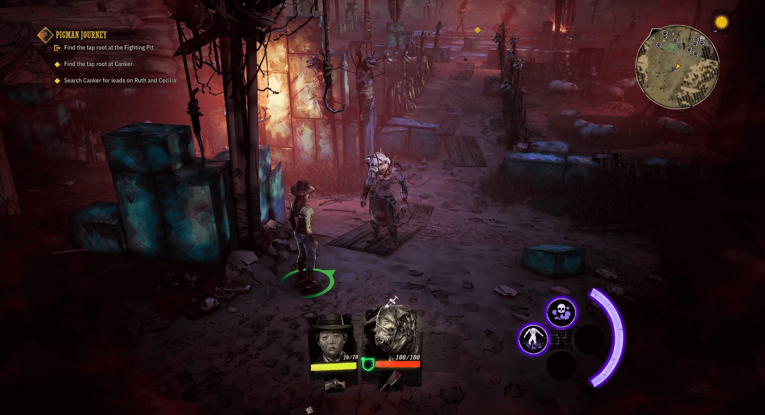 El surrealismo de Weird West llegará a PS4 en otoño