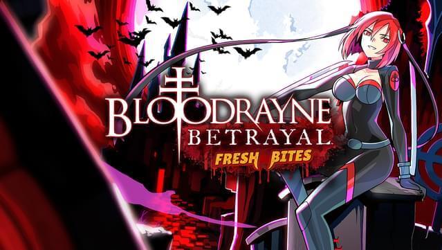 El remaster BloodRayne Betrayal Fresh Bites ya está disponible en PS4 y PS5