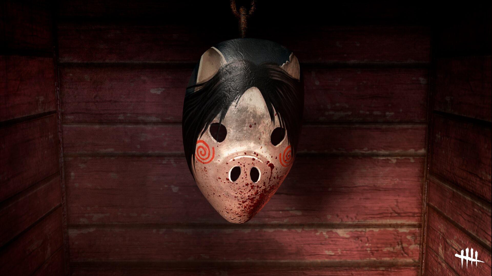 Dead by Daylight obsequia una máscara de Saw para Meg Thomas