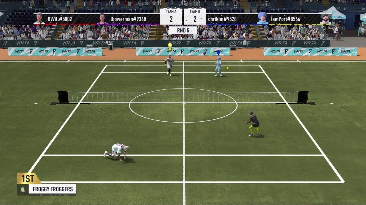 FIFA 22 muestra las novedades de su modo VOLTA: ¡Habrá Fútbol Tenis!