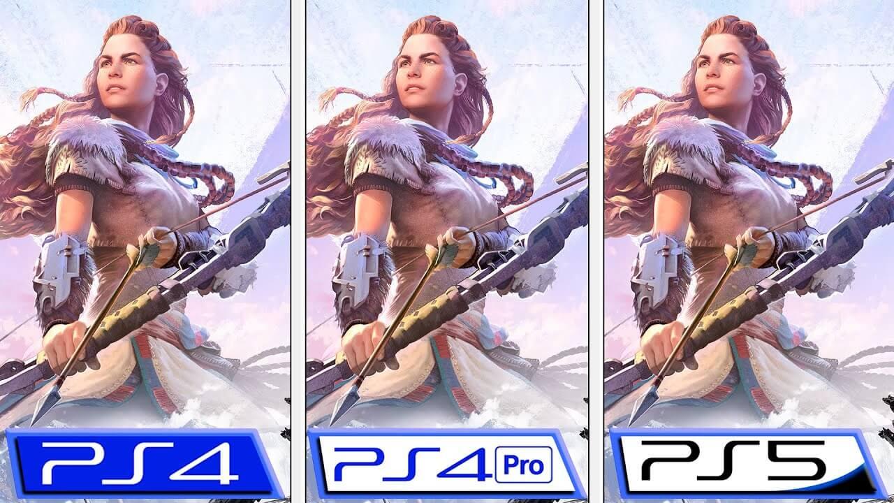 ¿Cómo luce Horizon Zero Dawn en PS5 con 60 FPS? Esta comparativa te lo muestra