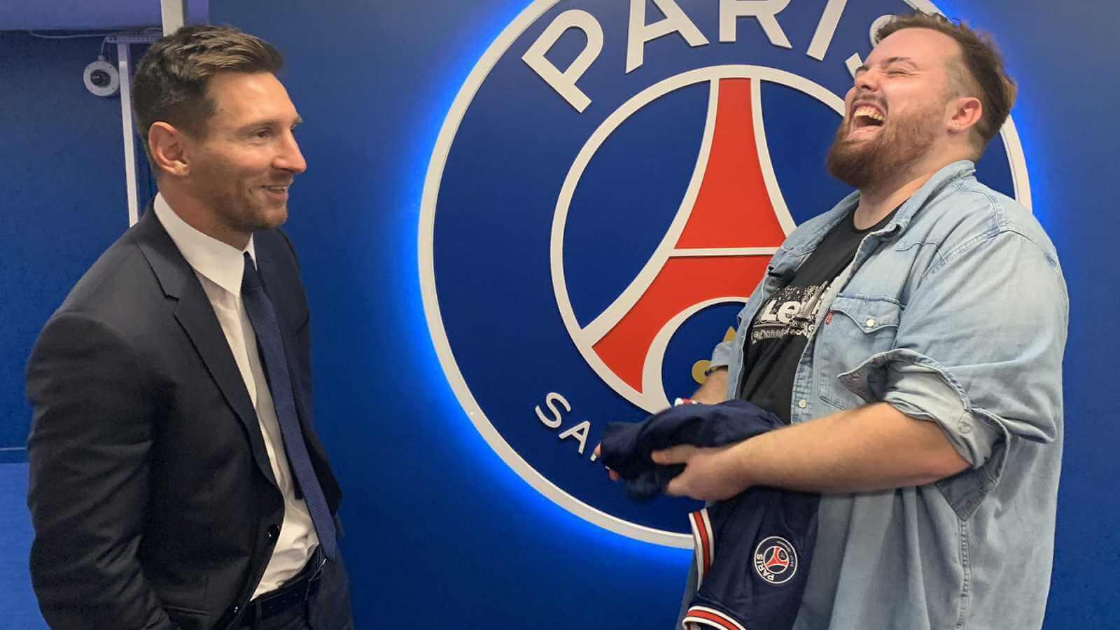 Ibai Llanos transmitirá gratis en Twitch el debut de Messi en el PSG
