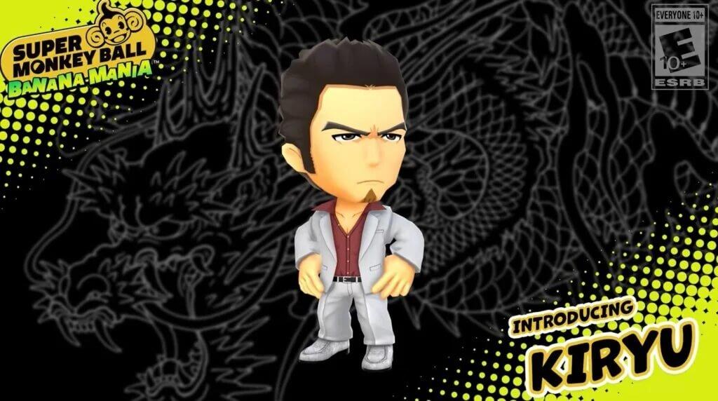 Kazuma Kiryu de Yakuza será parte de la diversión de Super Monkey Ball Banana Mania