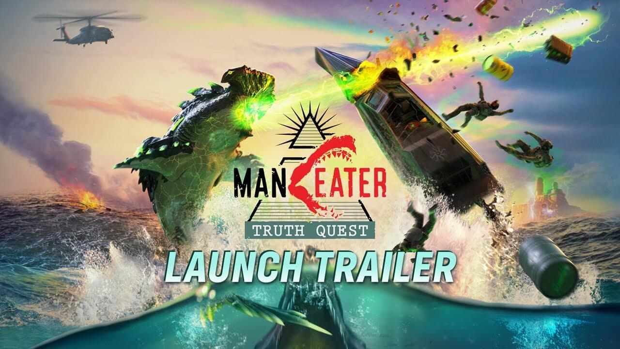 Maneater recibe hoy su DLC Truth Quest con una nueva historia