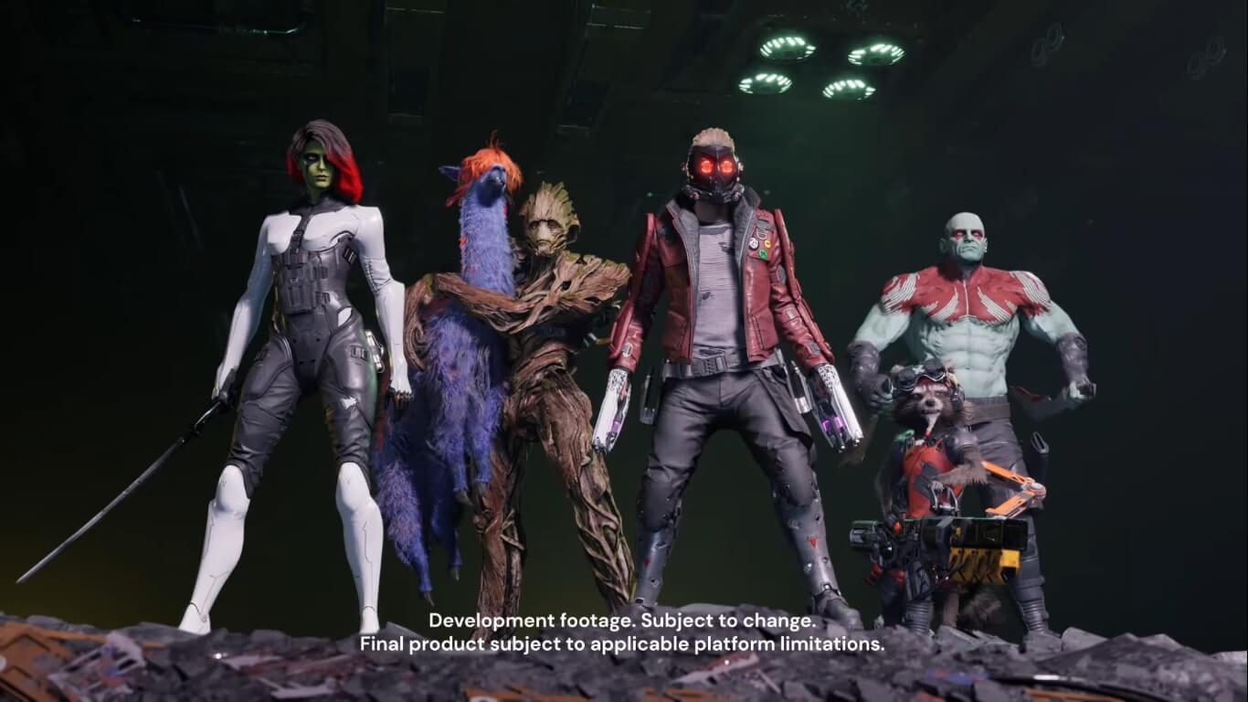 Marvel's Guardians of the Galaxy detalla a sus personajes en un nuevo tráiler
