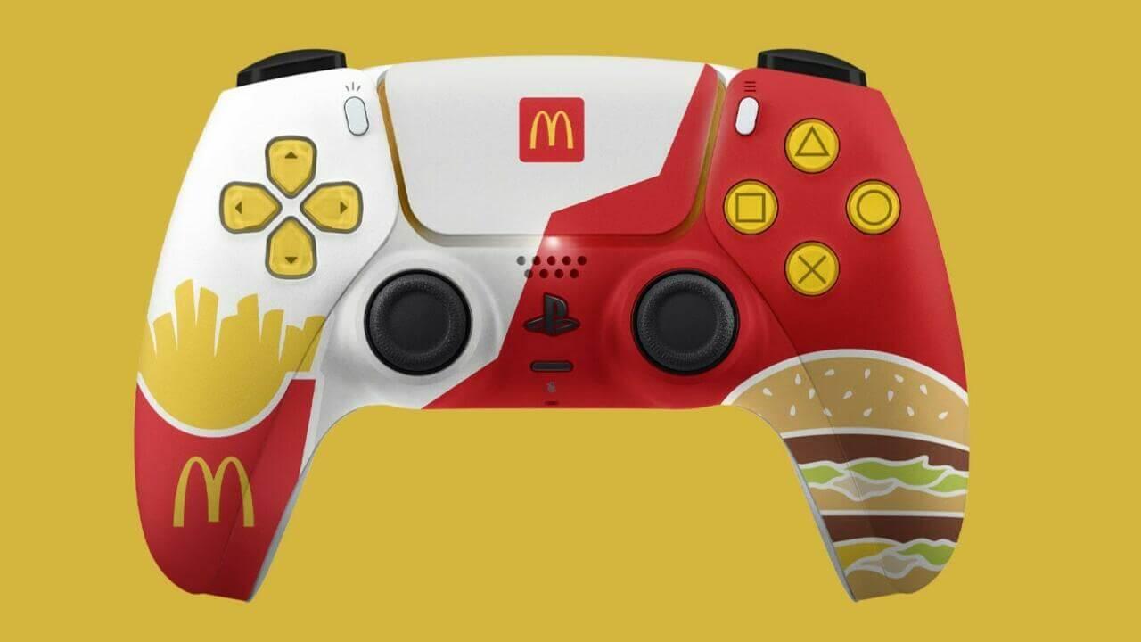 McDonald's Australia iba a regalar estos DualSense pero Sony lo ha prohibido