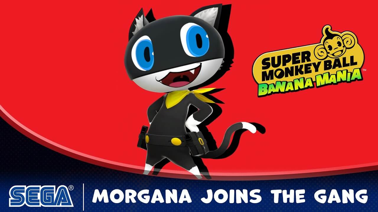 Morgana de Persona 5 será un personaje jugable de Super Monkey Ball Banana Mania
