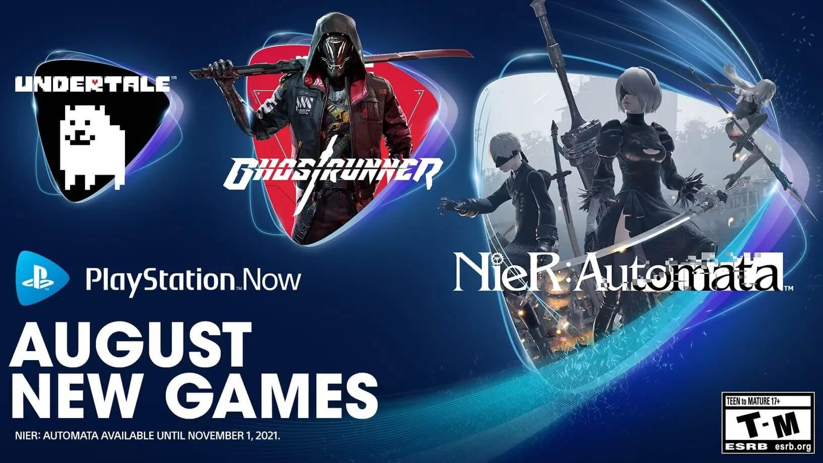 Ya puedes jugar NieR: Automata y Undertale en PS Now