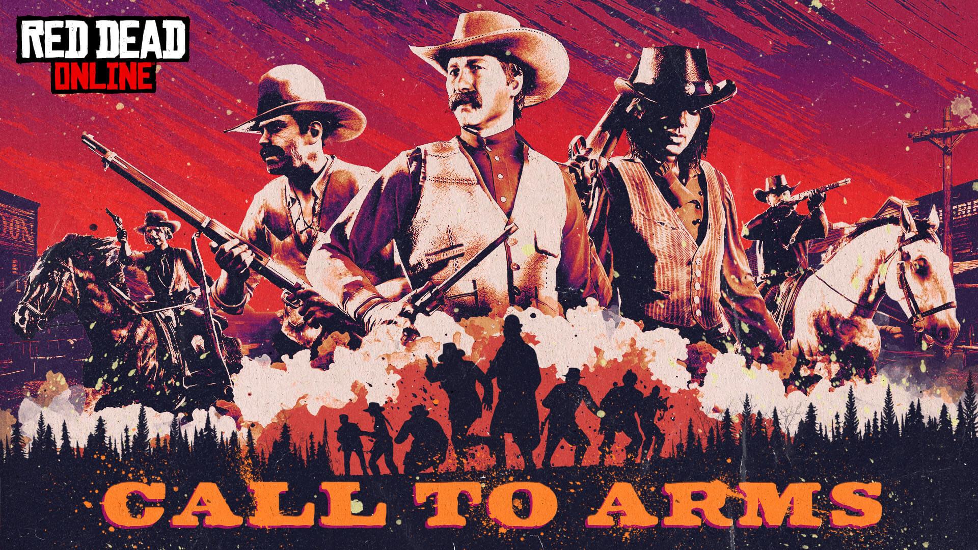 Red Dead Online ha añadido un nuevo modo Survival: A las Armas