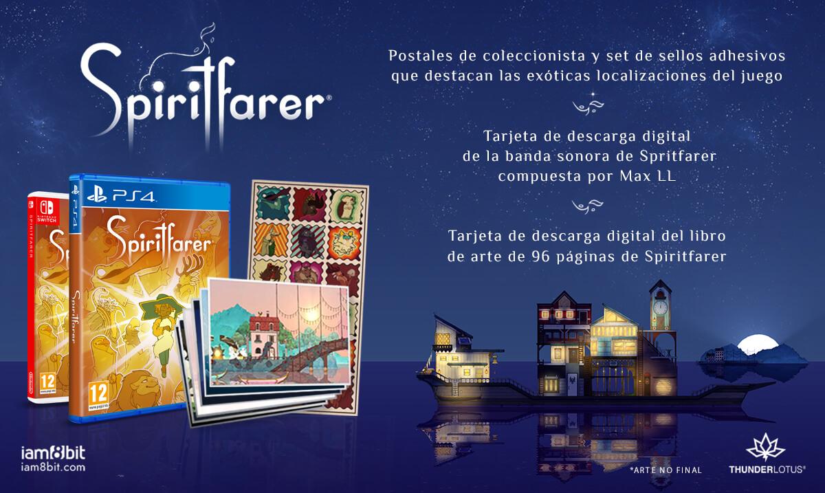 El acogedor Spiritfarer ya está disponible en formato físico para PS4