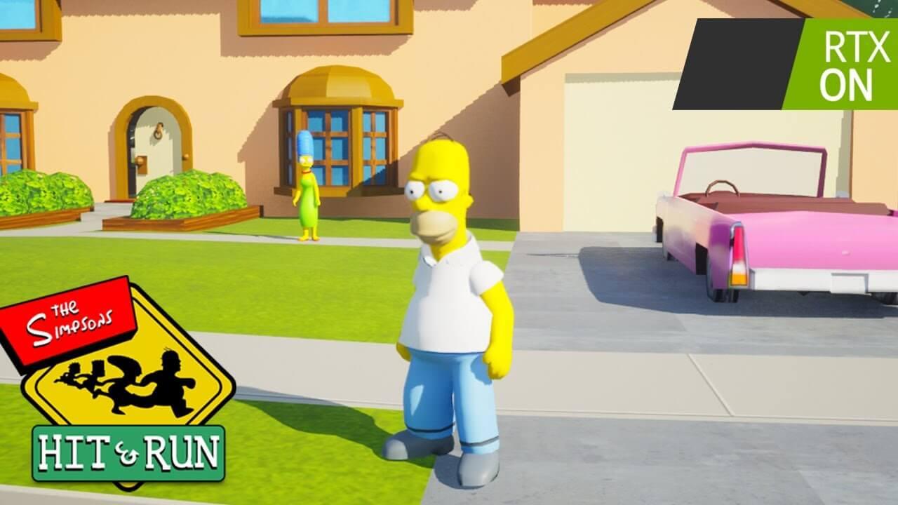 Crean un fan remake del mítico Los Simpsons: Hit & Run