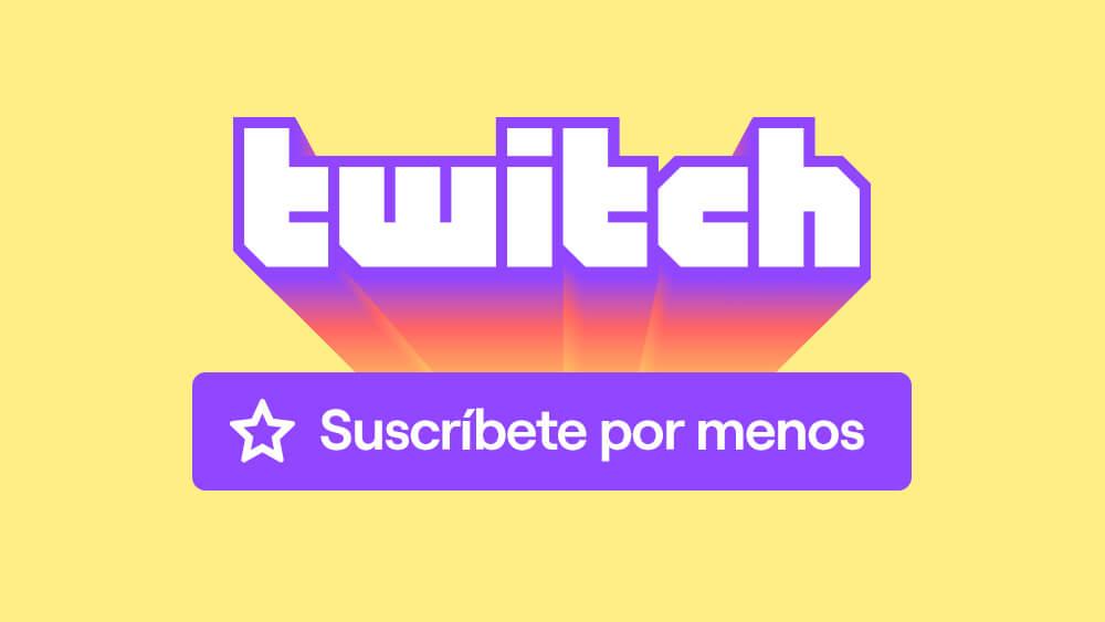 Twitch baja el precio de las suscripciones a usuarios de España