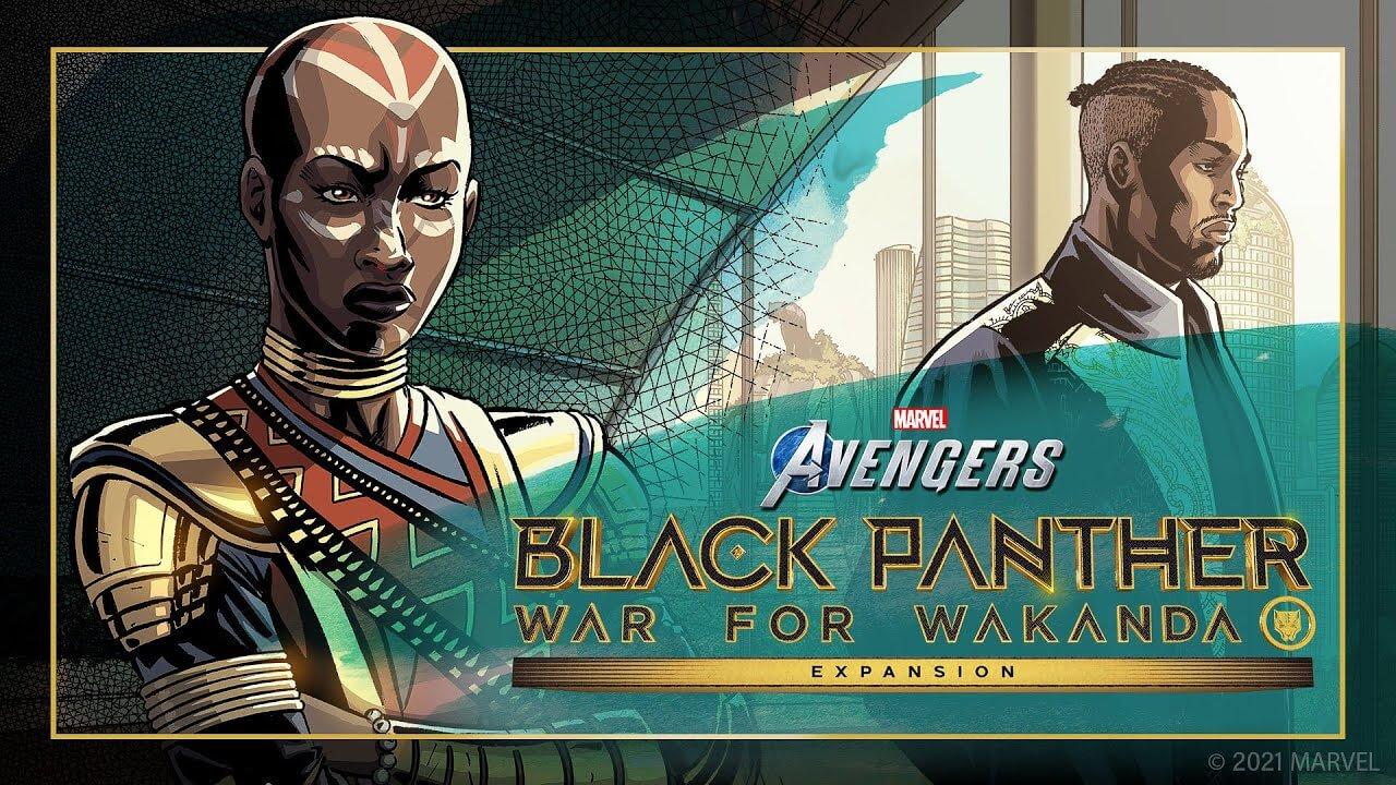 Marvel's Avengers deslumbra con un tráiler animado del DLC de Black Panther