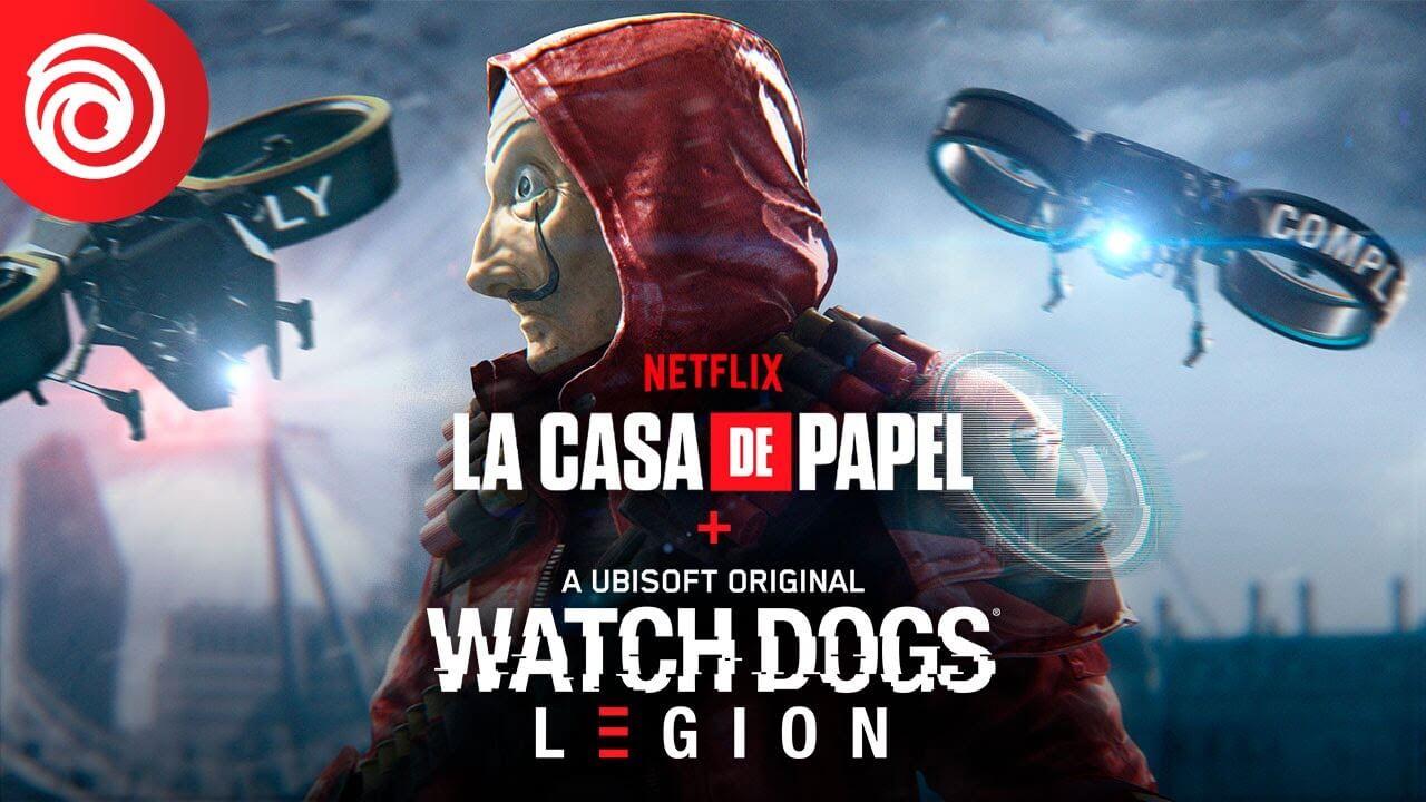 Watch Dogs: Legion + La Casa de Papel   Así es el nuevo crossover del juego