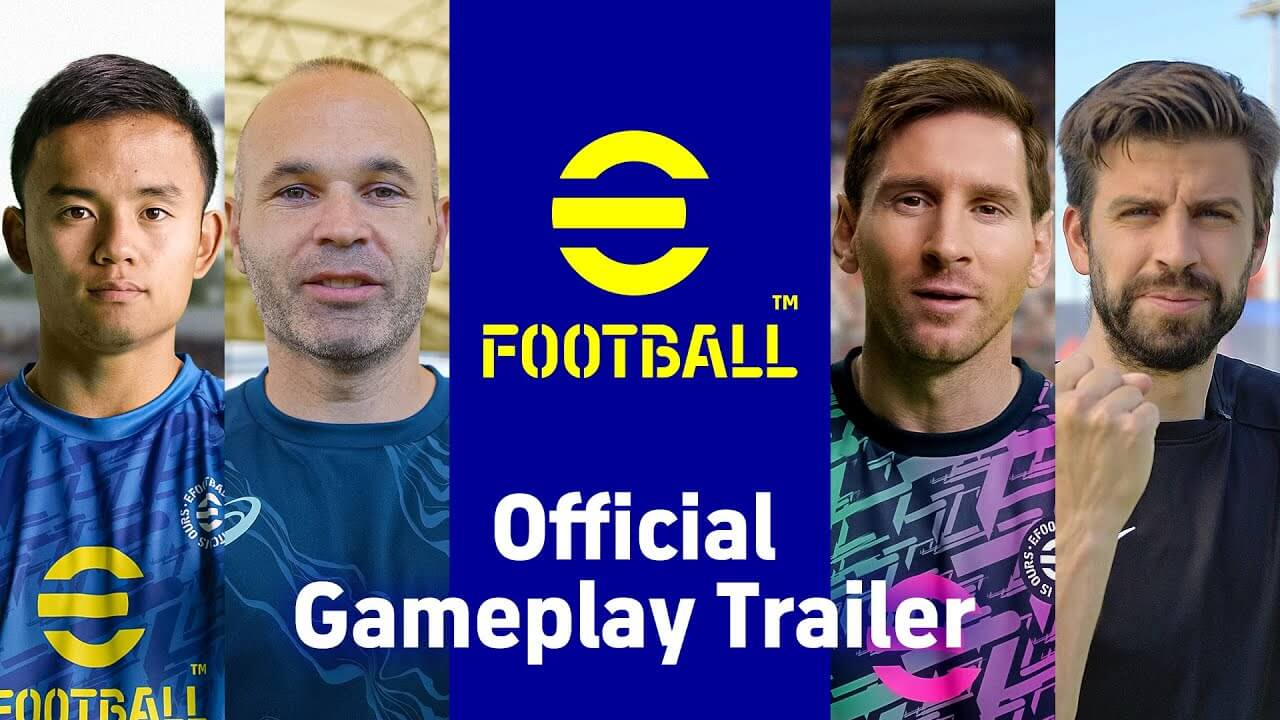 eFootball desvela su primer gameplay oficial con novedades jugables