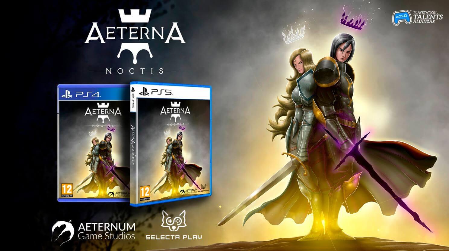 El metroidvania Aeterna Noctis contará con edición física para PS5 y PS4