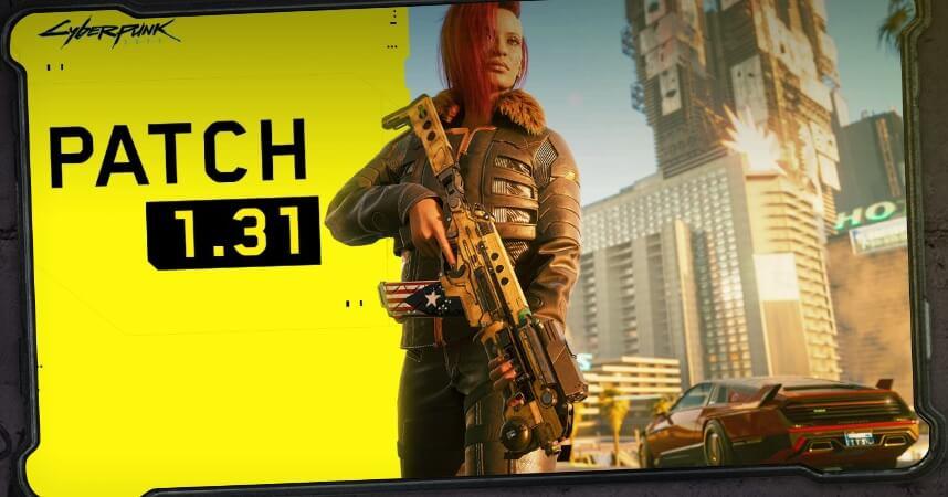 Cyberpunk 2077 se actualiza y mejora el aspecto de los charcos