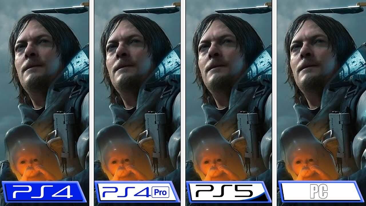Death Stranding: Director's Cut   Comparativa gráfica en PS5, PS4 y PC