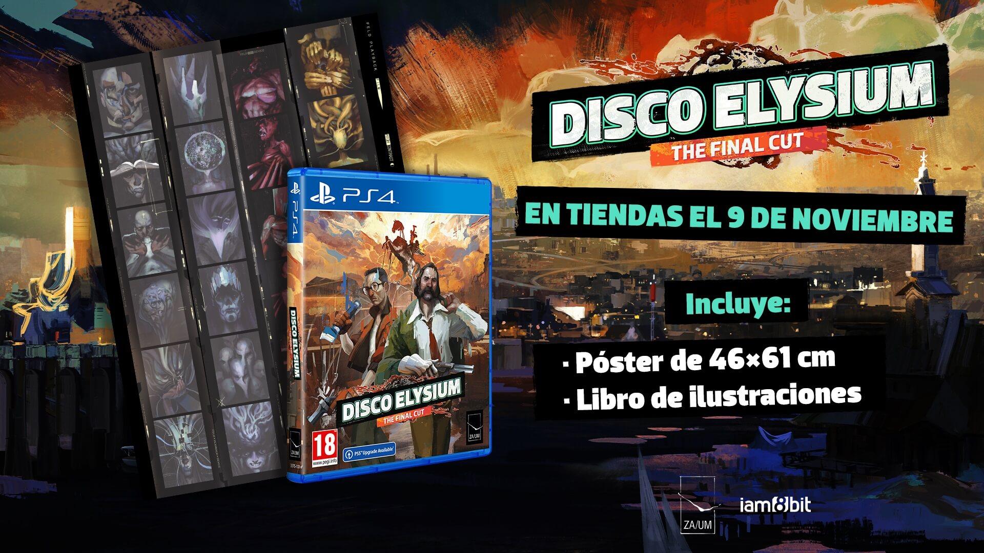 Disco Elysium – The Final Cut recibirá dos espectaculares ediciones físicas para PS4