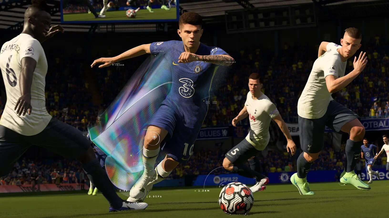 FIFA 22 detalla las funciones del DualSense, Audio 3D y más