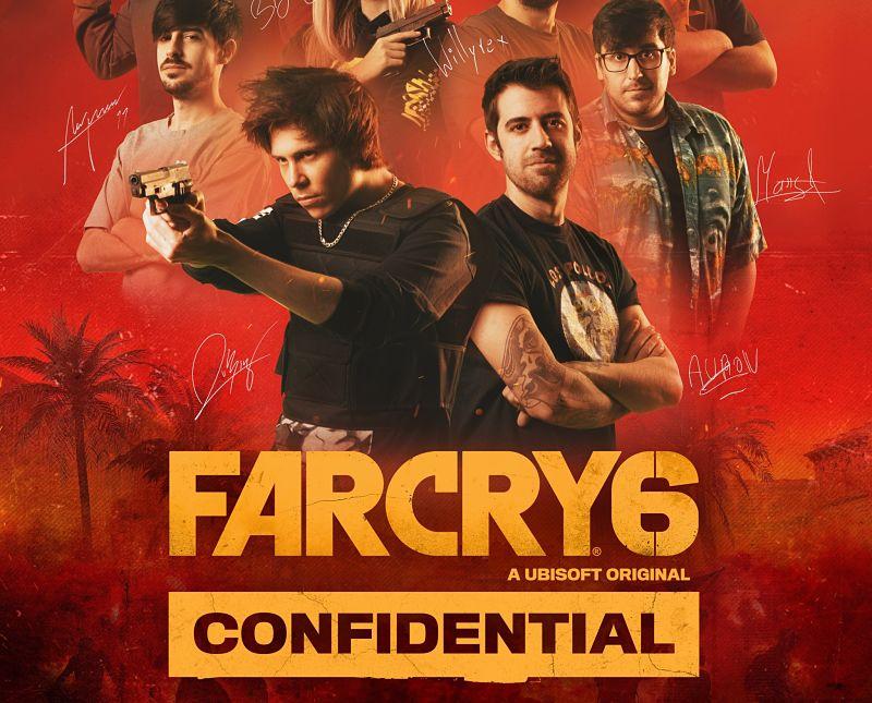 Ubisoft presenta el reality Far Cry 6 Confidential con Auronplay, Rubius, Willyrex y más