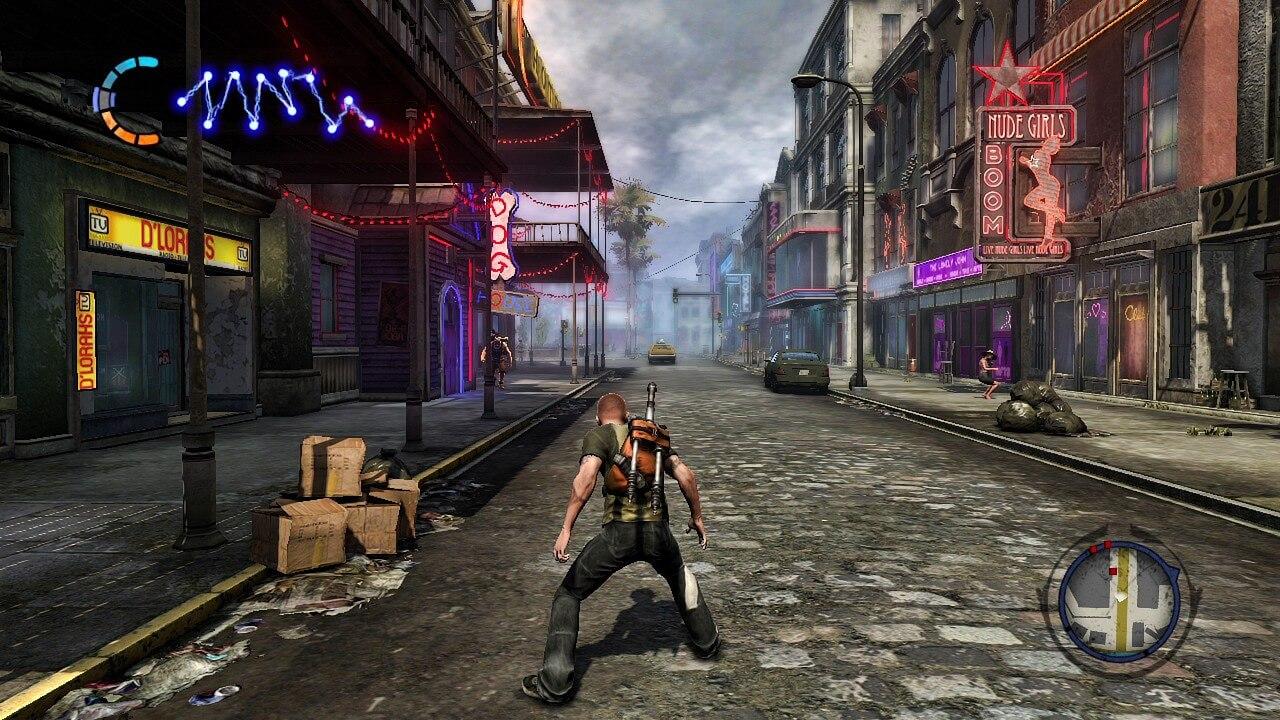 PlayStation ha renovado el dominio de la página web de Infamous