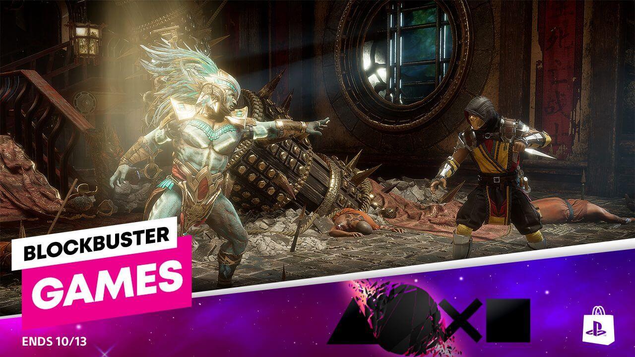 La promoción Juegos Blockbuster llega a PS Store con descuentos del 70%